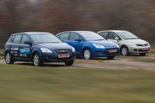 Тест-Драйв Nissan Tiida, KIA Ceed, Citroen C4